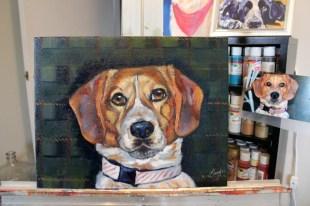 Grissom the Beagle